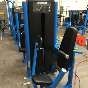 Blue Custom Color Frame on Precor Chest Press.