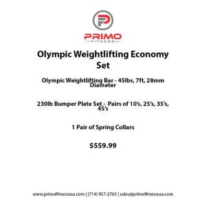 Olympic Weightlifting Economy Set
