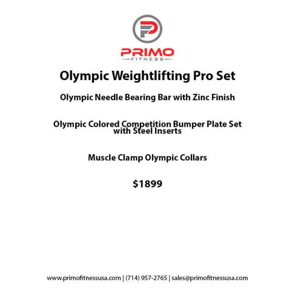 Olympic Weightlifting Pro Set