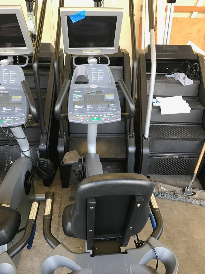 Precor C846i Bike with TV