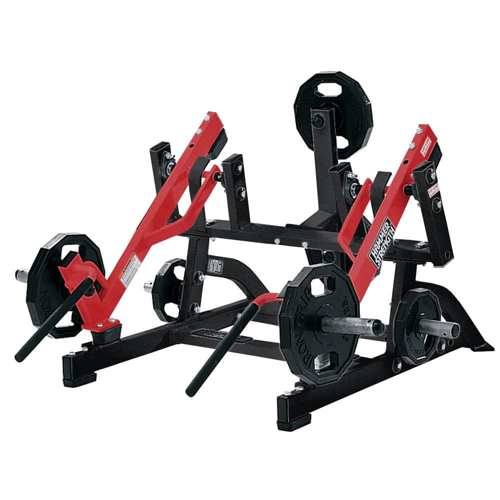 Hammer Strength Plate-Loaded Squat High Pull - Primo Fitness