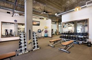 The Well Fit gym in Laguna Beach, CA