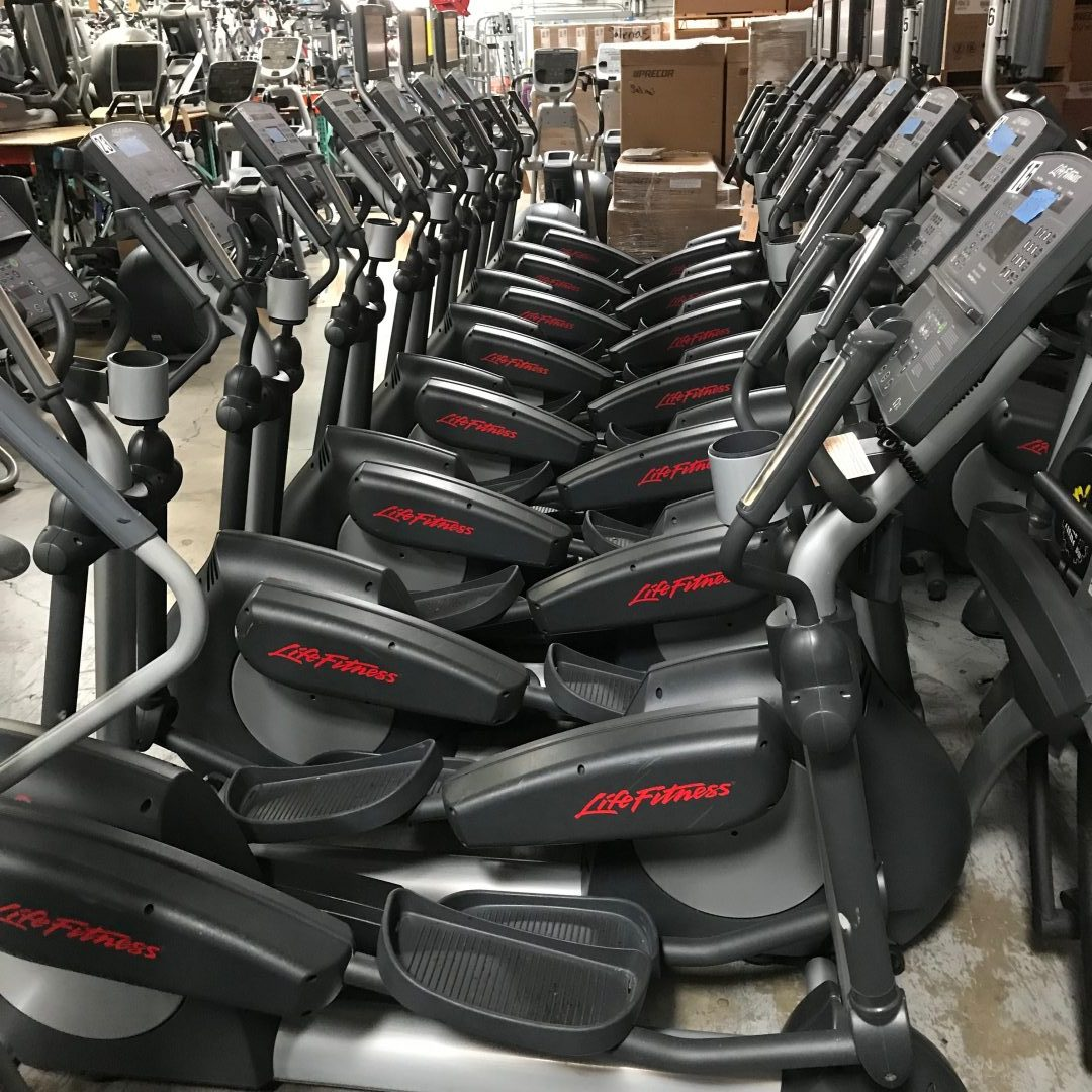 10 Life Fitness Integrity Elliptical Crosstrainers