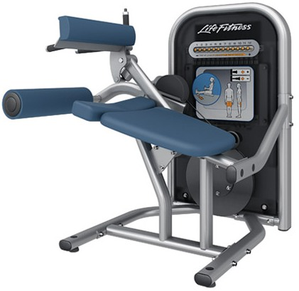 Life Fitness Circuit Series Seated Leg Curl machine