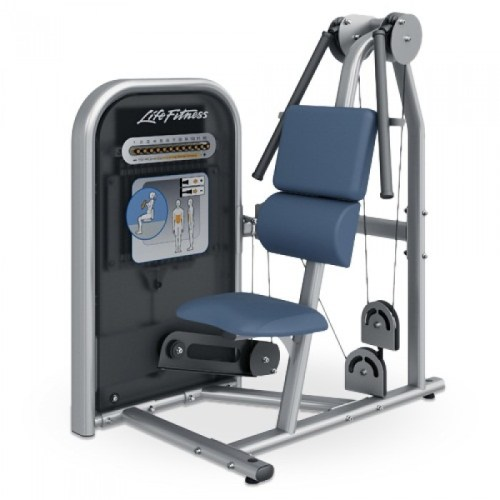 Life Fitness Circuit Series Ab Crunch machine