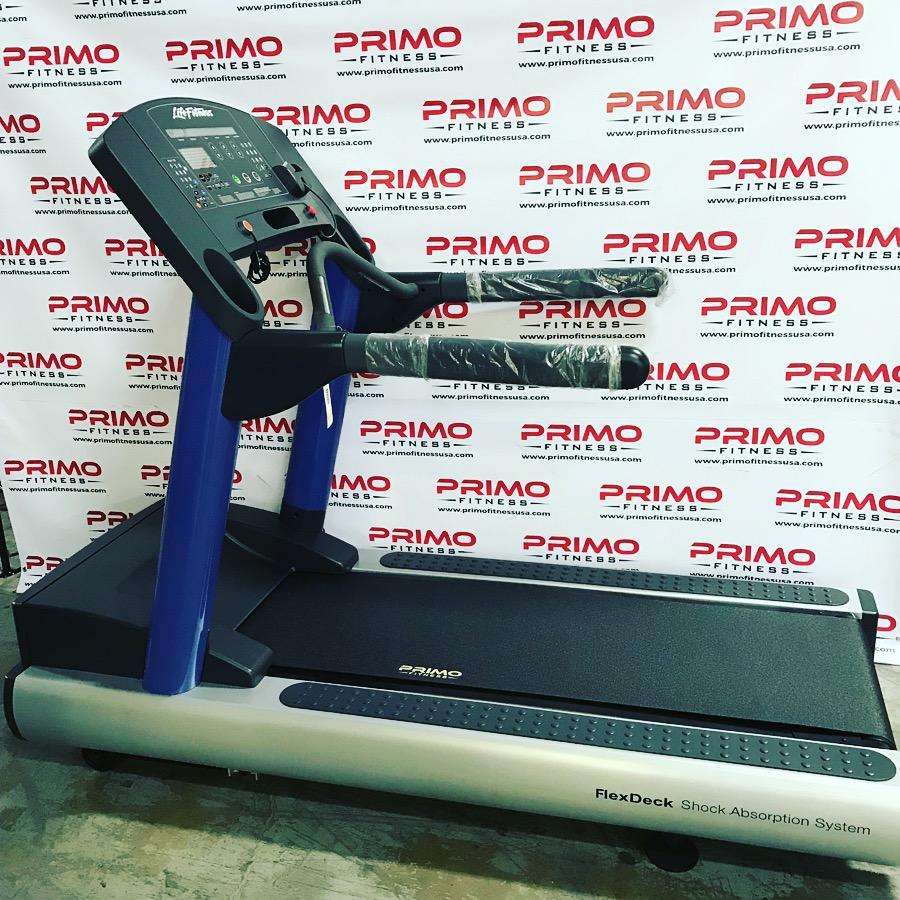 Life Fitness Integrity Treadmill Blue Frame
