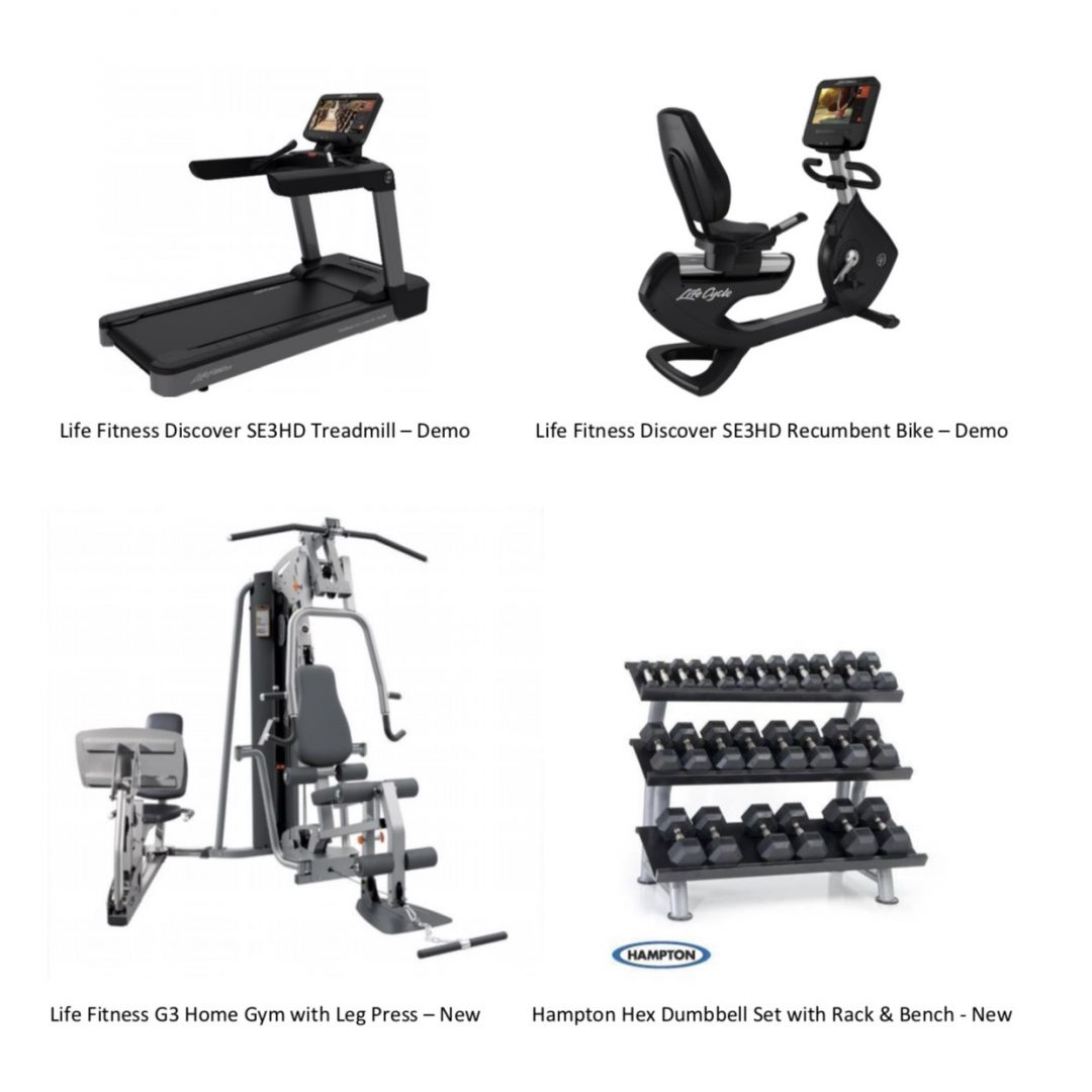 Home Gym Fitness Equipment Package