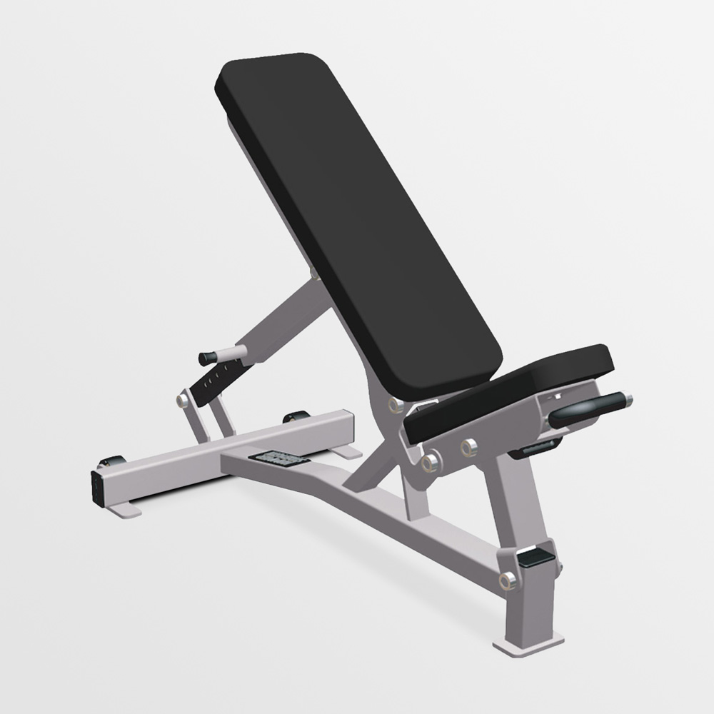 Hammer Strength Adjustable Bench Black/Tan