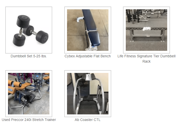 Home Gym Package A- $1,350