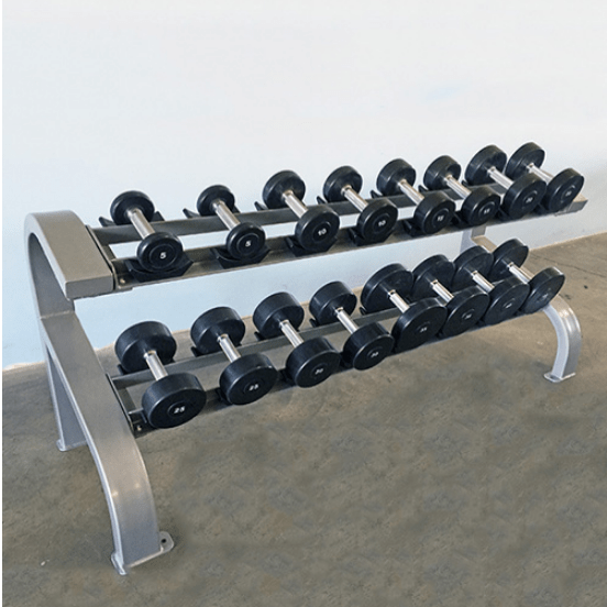 Modular-Two-Tier-Dumbbell-Rack-8-Pairs-MDR-2T8