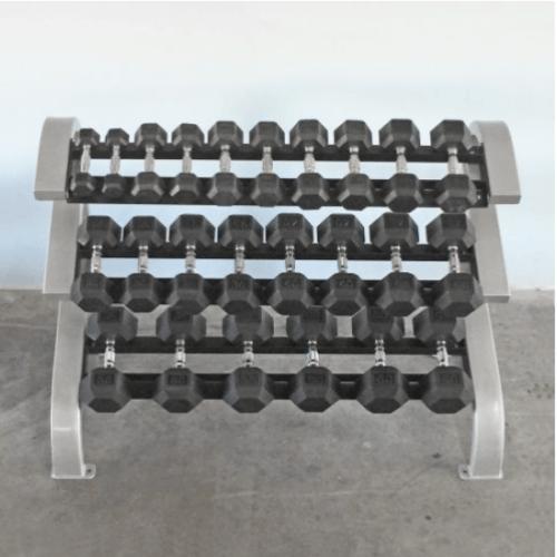 Modular Three Tier Hex Dumbbell Rack (Short)
