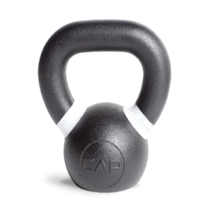 Cast Iron Competition Weight Kettlebell (White)