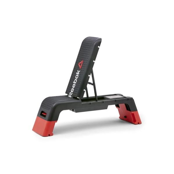 REEBOK Professional Deck Workout Bench, Black