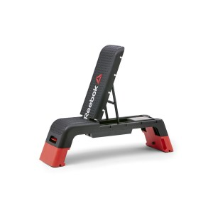 REEBOK Professional Deck Workout Bench, Black