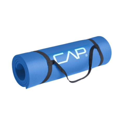 CAP High Density 15mm Exercise Mat with Strap