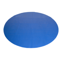 CAP Antimicrobial Multi-Use Round Mat, Blue, 5 Feet