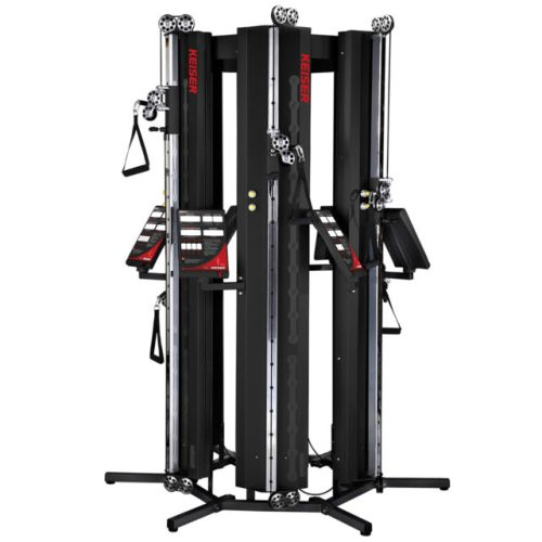 Keiser-Cable-Machine-Performance Trainer Six-Pack