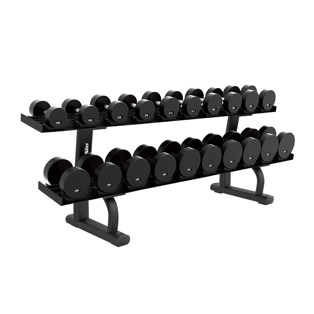 Life Fitness Signature Series Two-Tier Dumbbell Rack