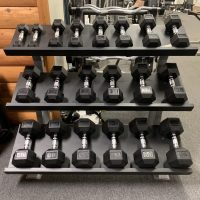 Muscle D Hex Dumbbell Set