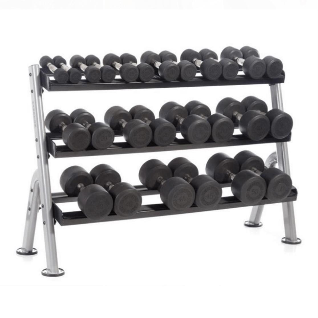Hampton Fitness 3 Tier Dumbbell Rack