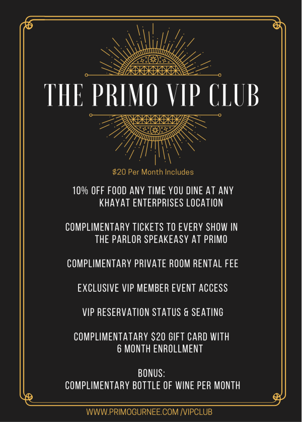 Primo VIP Club