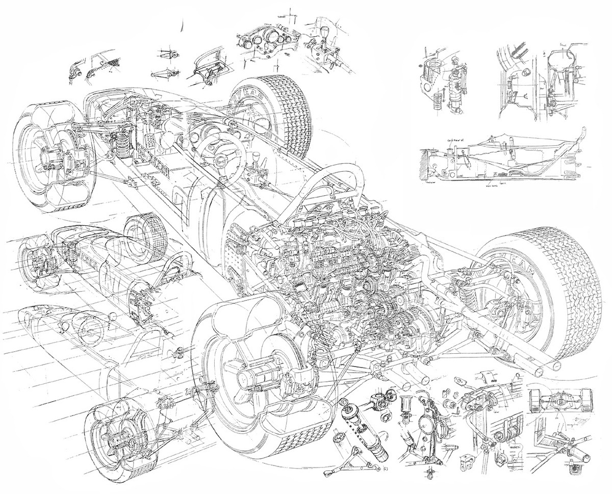 Honda Ra271 272 1 5 Litre V12 5 Gp Cars