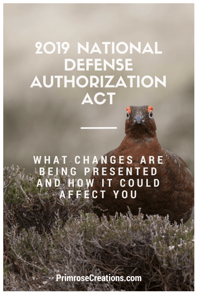 The National Defense Authorization Act of 2019 could set the standard for generations by influencing the enforcement of the Endangered Species Act #PrimroseCreations #lovethelifeyoulive #endangeredspecies #endangeredspeciesact #NDAA #NDAA2019 #NationalDefenseAuthorizationAct