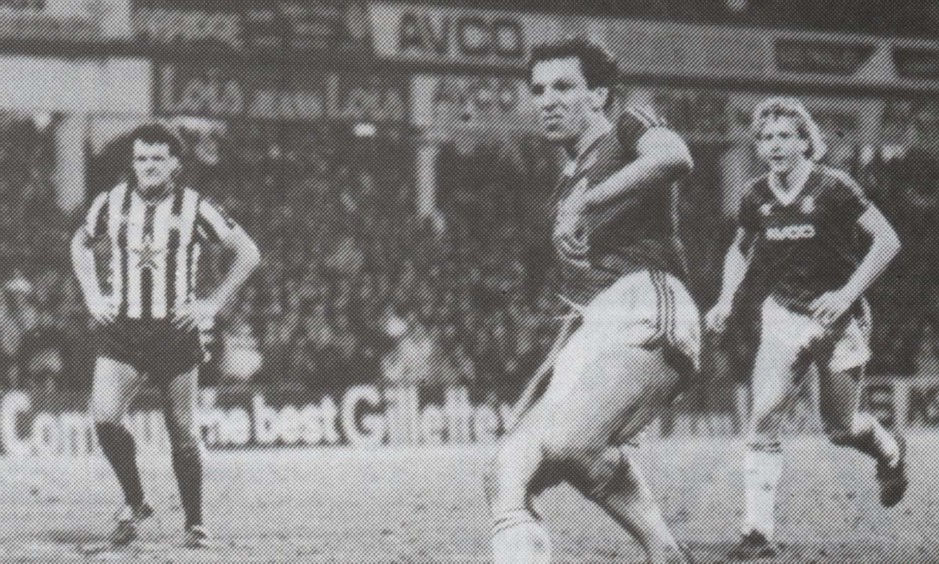 Imagine din West Ham - Newcastle 8-1, 1986. Sursă foto: dailymail.co.uk