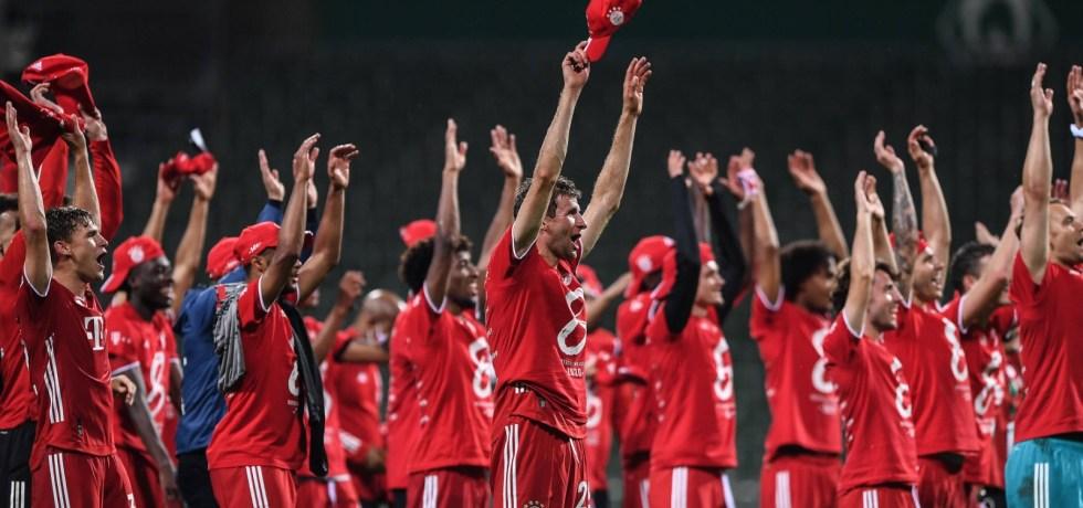 Jucătorii lui Bayern Munchen. Sursă foto: goal.com