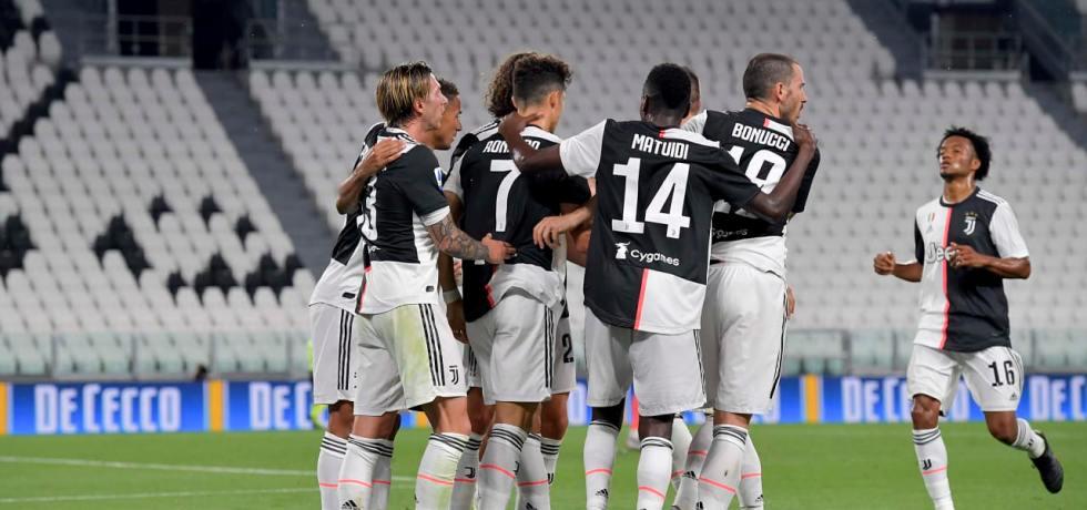 Cel mai amar titlu câștigat de Juventus din istorie. Sursă foto: twitter