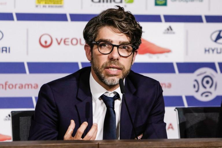Juninho, directorul sportiv al lui Lyon. Sursă foto: foot-sur7.fr