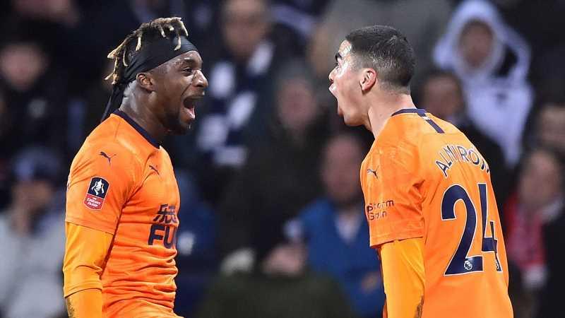 """Almiron, """"asasinul paraguayan"""" și Saint-Maximin """"regele driblingurilor"""", motivele pentru care Newcastle chiar joacă fotbal. VIDEO. Sursă foto: worldsportstale.com"""