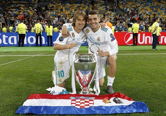 Matteo Kovacic și Luka Modric. Sursă foto: goal.com