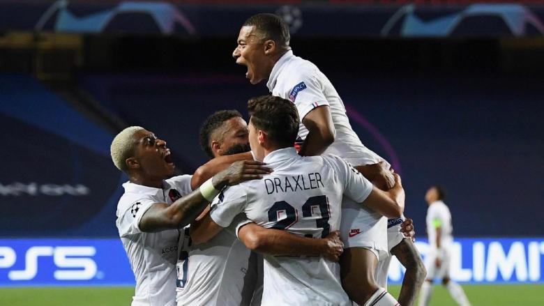 Jucătorii PSG-ului. Sursă foto: goal.com