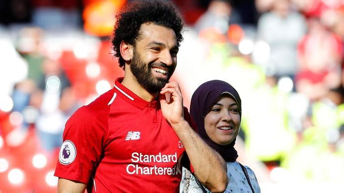 Soția, secretul din spatele succesului lui Salah. Sursă foto: goal.com