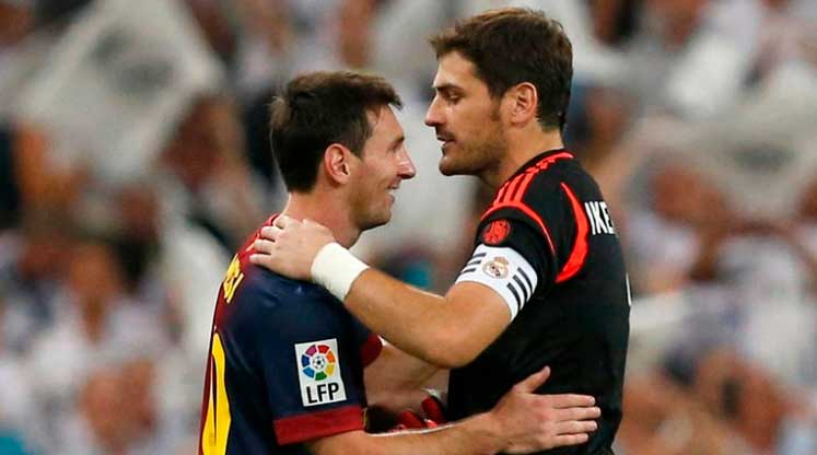 """Messi se înclină în fața carierei lui Casillas: """"Ești extraordinar!"""". Sursă foto: goal.com"""