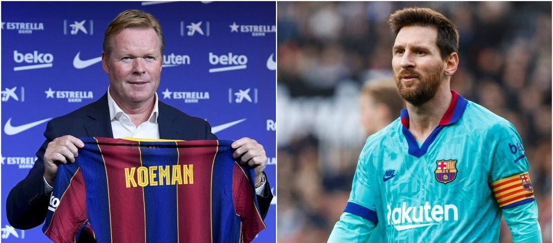 Koeman, despre relația sa cu Messi. Sursă foto: insider.com