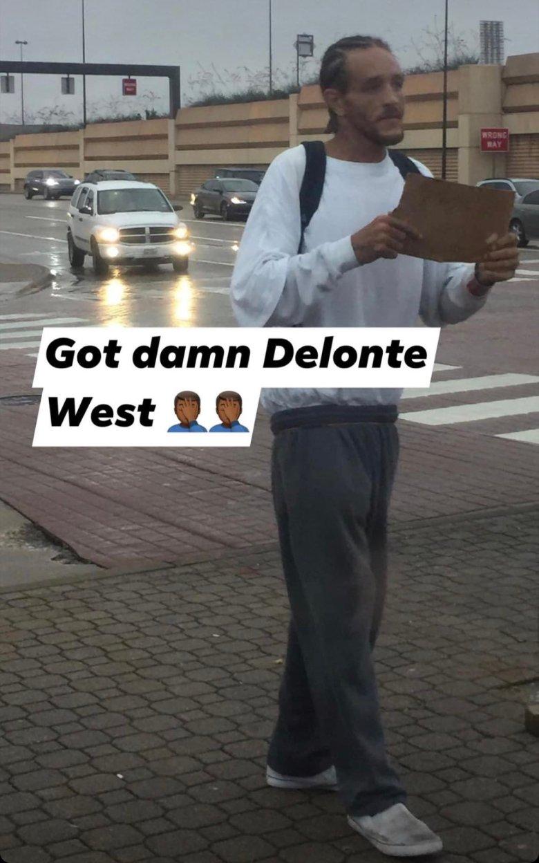 Delonte West. Sursă foto: Twitter.com