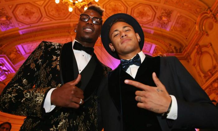 NEymar și Pogba. Sursă foto: goal.com
