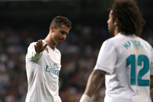 Cristiano Ronaldo și Marcelo. Sursă foto: goal.com