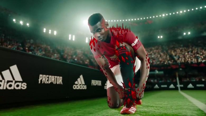 Paul Pogba în reclama Adidas. Sursă foto: goal.com