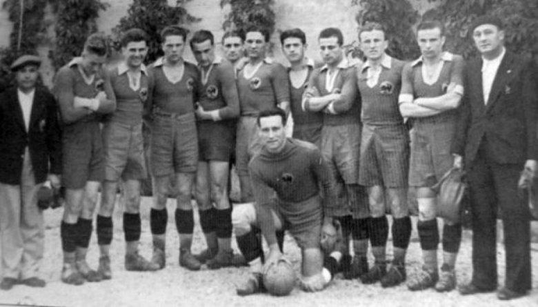 Naționala României din 1934. Sursă foto: evz.ro