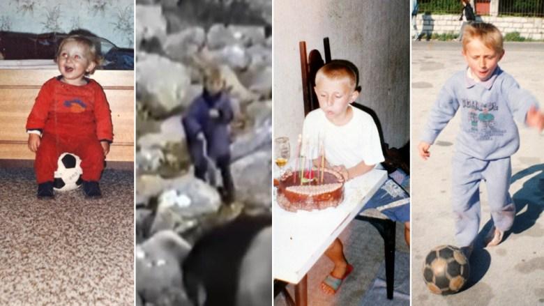 Luka Modric copil. Sursă foto: goal.com