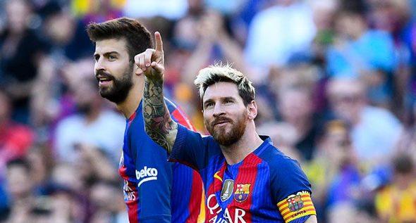 Ce i-a spus Pique lui Messi când a vrut să plece de la Barcelona. Sursă foto: goal.com