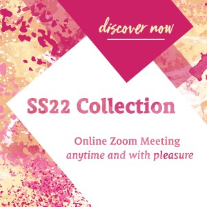 SS22 collection presentation – Online Zoom Meeting – anytime!