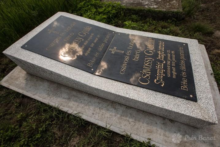 Csávossy's grave