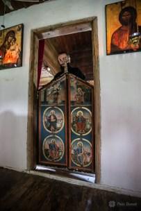 Uşa împărătească din Biserica de lemn din Crivina de Sus