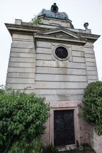 Mocioni family mausoleum in Foeni
