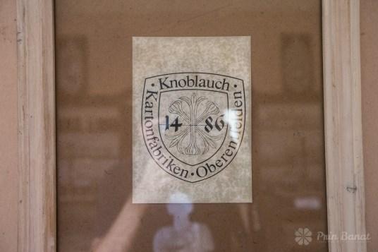 Blazonul familiei Knoblauch