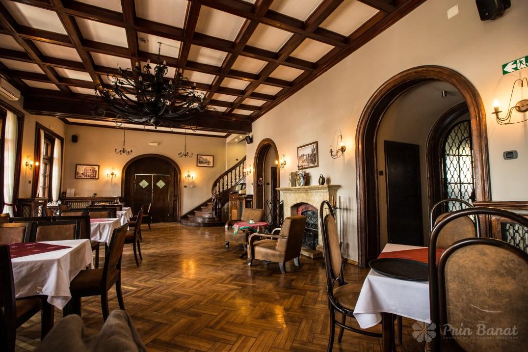 Banaterra Castle - The restaurant